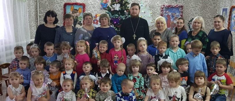 Рождественский утренник в д/с «Колобок» п.Тургенево Ардатовского района