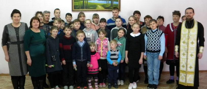 Рождественская встреча в Кученяевской ООШ Ардатовского района