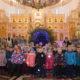 Юная паства храма апостола Андрея Первозванного п.Атяшево