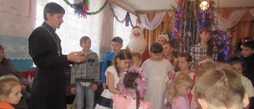 Рождественский утренник в с.Кучкаево Большеигнатовского благочиния