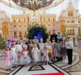 Рождественский утренник в воскресной школе Андреевского храма п.Атяшево