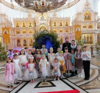 Рождество Христово в воскресной школе Никольского кафедрального собора