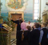 Духовная встреча  с учащимися 4 класса Атяшевской СОШ №1 в Андреевском храме п.Атяшево
