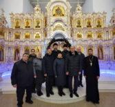 Праздничная встреча в стенах Андреевского храма п.Атяшево