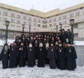 Архипастырь принял участие в секции монашеского служения XXVIII Международных Рождественских образовательных чтений
