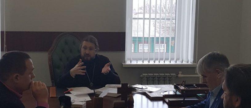 В епархиальном управлении Ардатовской епархии прошло рабочее совещание по молодежной работе