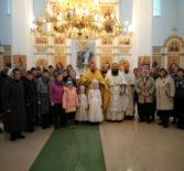 Новогоднее богослужение в храме Живоначальной Троицы Больших Березников