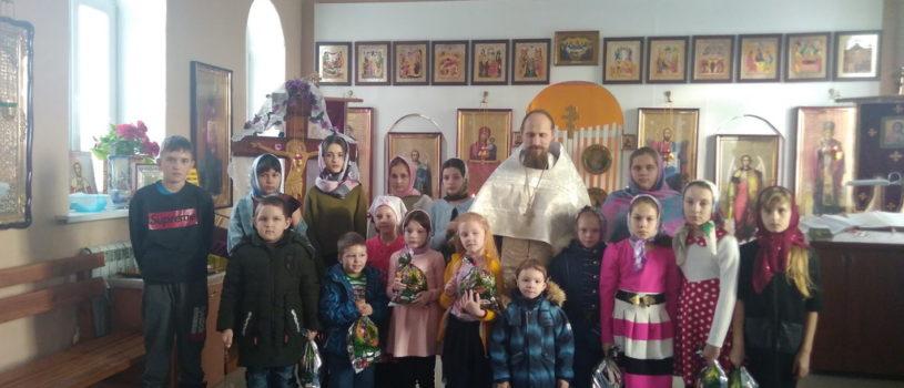 В Кабаевском и Чиндяновском приходе прошли Рождественские утренники