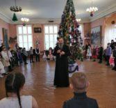 Рождественская ёлка для детей из многодетных и малообеспеченных семей п.Комсомольский Чамзинского района