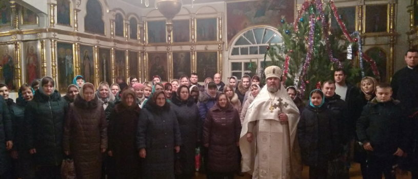 Рождественский утренник в Вознесенском приходе с.Атяшево