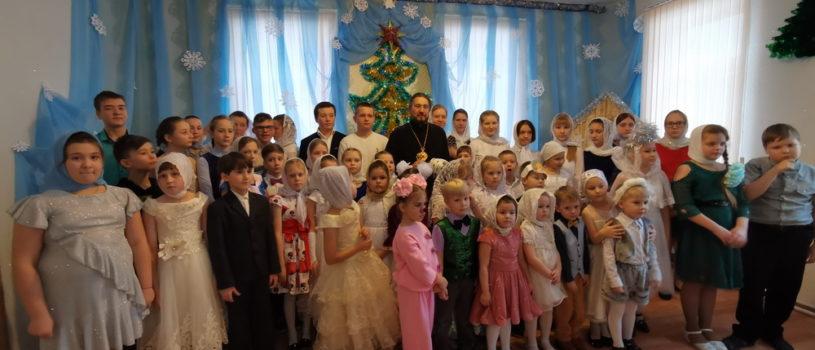 Рождественский утренник в Воскресной школе Никольского кафедрального собора г.Ардатова