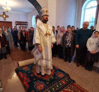 Архипастырь на Обрезание Господне посетил Кочкуровский приход
