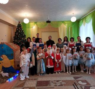 Архипастырь посетил детский сад