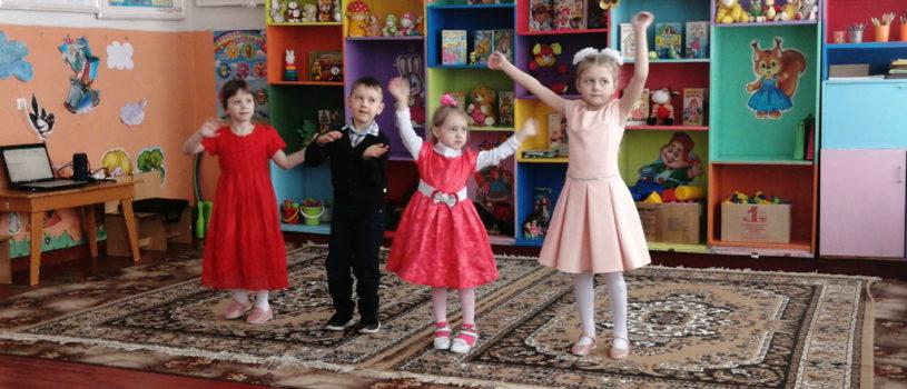 В детском саду села Чукалы Ардатовского района прошел праздничный утренник