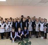 В Поводимовской СОШ прошел открытый урок ОПК на тему Крещения Господня и крещению Руси