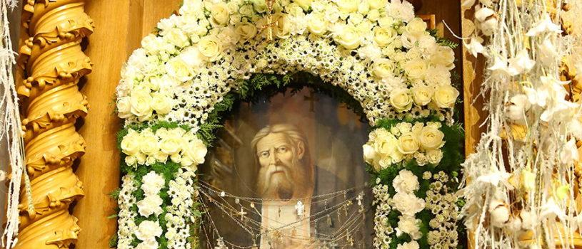 День памяти преподобного Серафима Саровского, в Свято-Троицком Серафимо-Дивеевском женском монастыре
