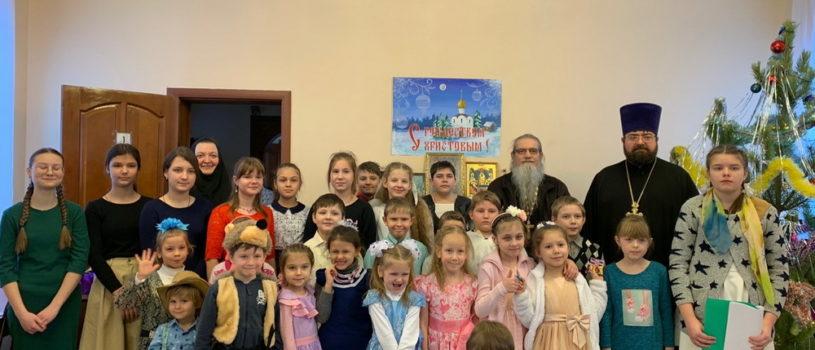 Рождество Христово в воскресной школе «Солнечный лучик»при Михайло-Архангельской церкви п.Чамзинка