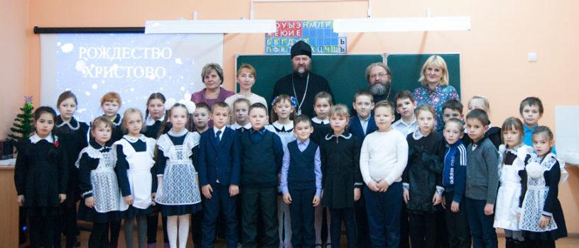 Рождественские мероприятия в Большеигнатовской СОШ