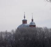Видеорепортаж о росписи храма Архангела Михаила с.Алово 2-го церковного округа Атяшевского благочиния