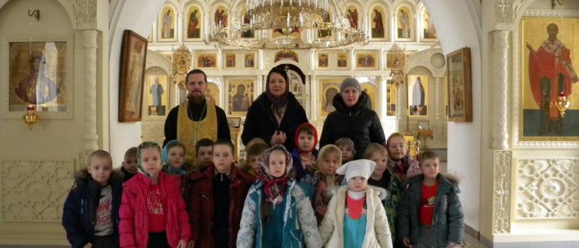 Воспитанники Ардатовского детского сада «Березка» посетили Никольский кафедральный собор г.Ардатова