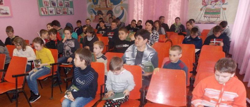 В Поводимовской школе-интернате прошла встреча со священником