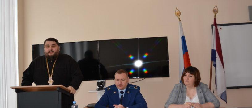 Итоговое заседание комиссии по делам несовершеннолетних Дубенского муниципального района