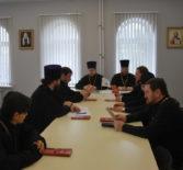 В епархиальном управлении Ардатовской епархии прошло выездное заседание Коллегии Миссионерских отделов Мордовской митрополии