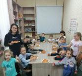 В Воскресной школе Андреевского храма п.Атяшево прошел кулинарный урок