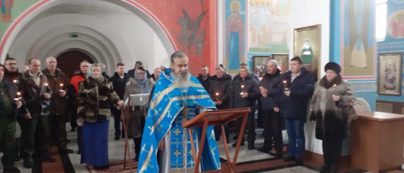 В храме Благовещения Пресвятой Богородицы п.Комсомольский Чамзинского благочиния помянули воинов-интернационалистов