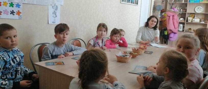 Воскресная школа Андреевского храма п.Атяшево старается всесторонне развивать своих воспитанников