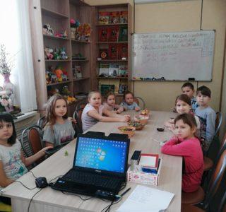 В Воскресной школе Андреевского прихода проходит активная творческая жизнь