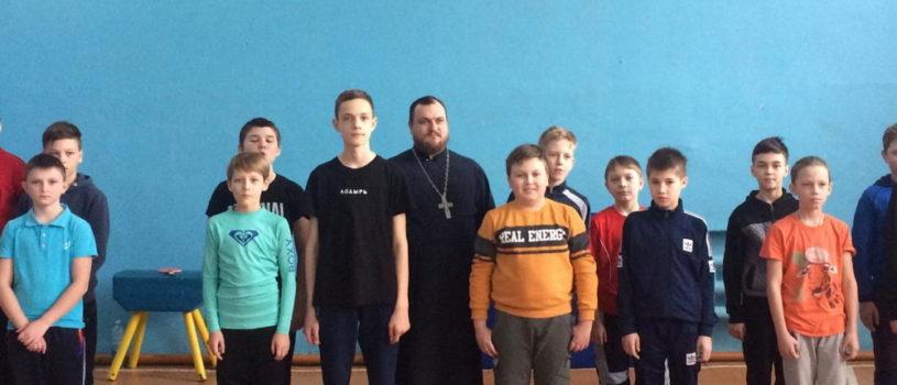 В Комсомольской СОШ №1 Чамзинского района прошел традиционный «Богатырский турнир»