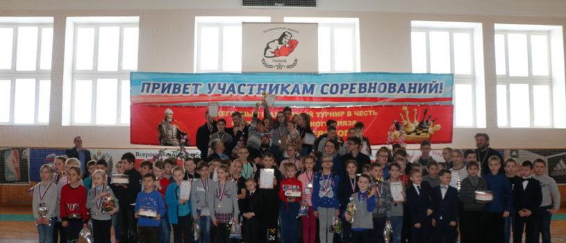 В Ардатове прошел шахматный турнир в честь Александра Невского на кубок Ардатовской епархии