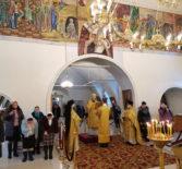 Неделю мясопустную, Архипастырь совершил Божественную литургию в Никольском кафедральном соборе г.Ардатова