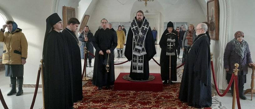 Понедельник 1-й седмицы Великого поста в Никольском кафедральном соборе г.Ардатова