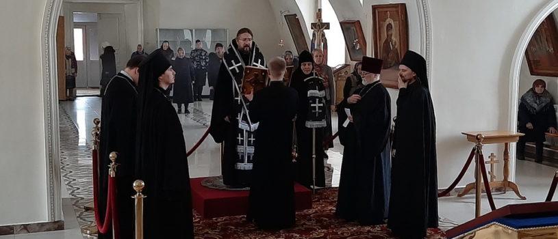 Вторник 1-й седмицы Великого поста в Никольском кафедральном соборе г.Ардатова