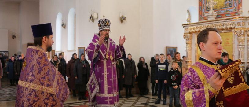 Суббота 2-й седмицы Великого поста в Андреевском храме п.Атяшево