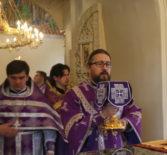 В Неделю 2-ю Великого Поста Архипастырь совершил Божественную литургию в Никольском кафедральном соборе г.Ардатова