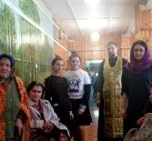 Продолжается благотворительная акция «Спеши делать добро.Ты не один!». Посетили интернат для престарелых с.Козловка Атяшевского района.