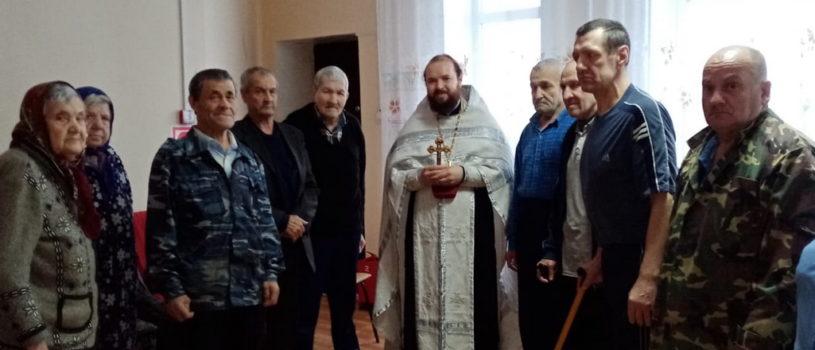 Духовное окормление жителей Поводимовского дома-интерната для престарелых