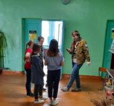 Волонтерское мероприятие в рамках проекта «Дрога Добра» в Октябрьской СОШ Ардатовского района
