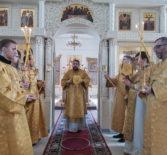 Неделя сыропустная, воспоминание Адамова изгнания (Прощеное воскресенье) в Никольском кафедральном соборе г.Ардатова