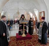 Великое повечерие с чтением покаянного канона Андрея Критского в Никольском кафедральном соборе г.Ардатова