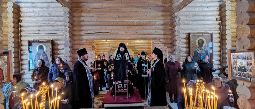 Покаянный канон Андрея Критского в храме Новомучеников и Исповедников Российских г.Ардатова