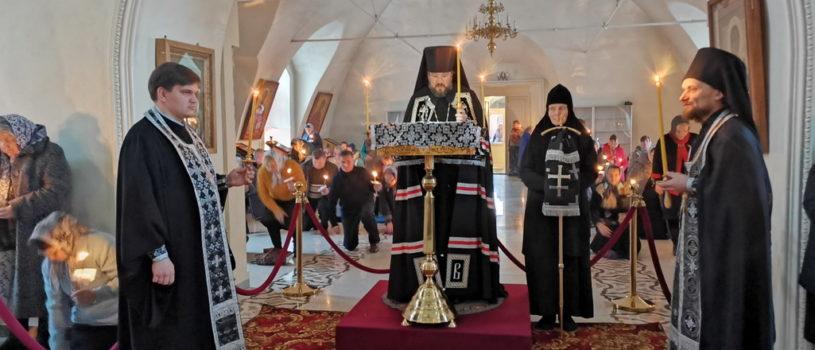 Покаянный канон Андрея Критского в Никольском кафедральном соборе г.Ардатова