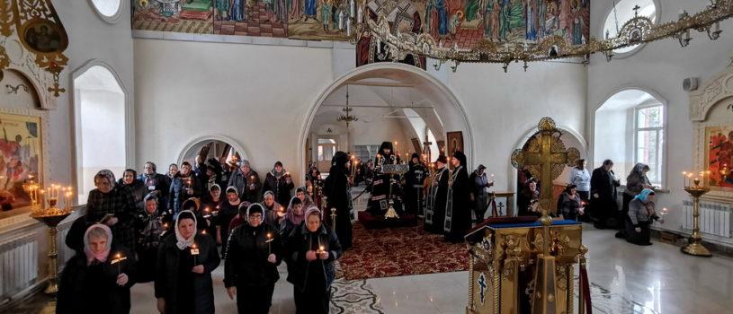 Великий покаянный канон Андрея Критского в Никольском кафедральном соборе г.Ардатова