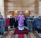 Суббота первой Седмицы Великого поста в храме Новомучеников и Исповедников Российских г.Ардатова
