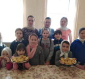 Сорок мучеников Севастийских в воскресной школе Никольского кафедрального собора г.Ардатова