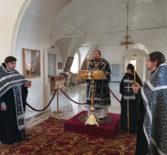 Архипастырь совершил Пассию — акафист Страстям Господним в Никольском кафедральном соборе г.Ардатова