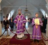 Суббота 3-й Седмицы Великого Поста в Никольском кафедральном соборе г.Ардатова